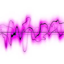 Purple Sound Wave