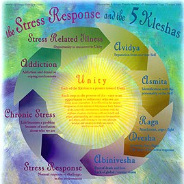 Five Kleshas and Stress Response