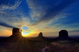Navajo Land Sun Rise