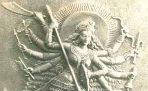 Devi Durga Chakra Weaponry