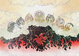 Seven Deities Banishing Asura