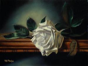 Symbolic White Rose