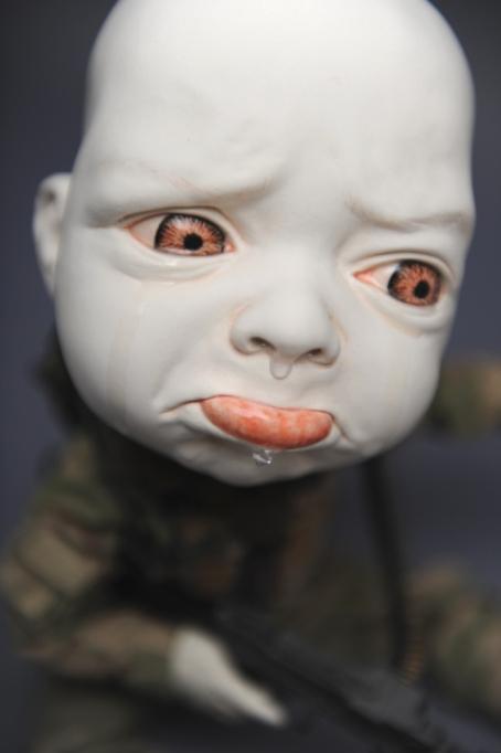 Creepy Ceramic Sculptures Johnson Tsang 11